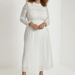 ⚘FINAL PRICE⚘ Eloquii Crochet Maxi Dress